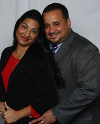 Jose and Karina the owners of J. R. Associates Insurance