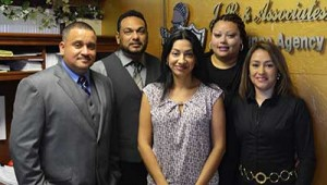 The staff at J.R. and Associates Insurance